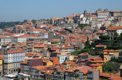 Stock Photo of Portugal, the old historical houses in Porto