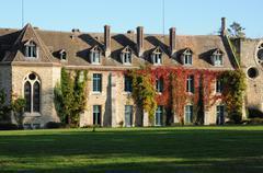 France, Yvelines,  les Vaux de Cernay abbey - stock photo