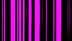 Colored Lines And Stripes Vj Loop Stock Footage