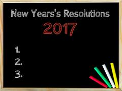 New Years Resolutions 2017 Stock Photos