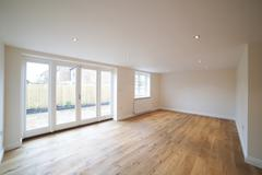 Interior Of Empty Lounge In New Home - stock photo