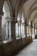Stock Photo of renaissance cloister of Batalha monastery in Portugal