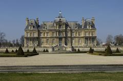 Stock Photo of historical castle of Maisons Laffitte in Les Yvelines