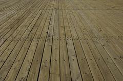 wood floor - stock photo