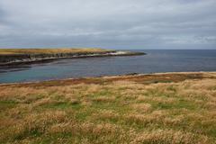 Bleaker Island Stock Photos