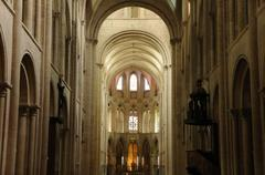 Stock Photo of Caen, the abbaye aux Hommes in Normandie