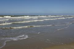 Stella Plage in Nord Pas de Calais - stock photo
