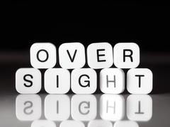 Oversight concept - stock photo