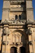 Ile de France, the renaissance church of Vetheuil Stock Photos