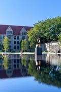 UChicago Law School Pool Stock Photos
