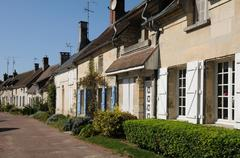 France, the village of Saint Jean aux Bois in Picardie - stock photo