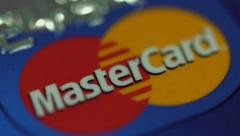 Master Card Credit Card Stock Footage