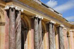 Le Grand Trianon in Versailles Stock Photos