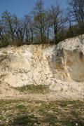 Stock Photo of the Vigny Quarry in Val d Oise