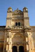 Ile de France, the renaissance church of Vetheuil Stock Photos