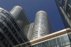 Stock Photo of France, modern building in the district of La Defense