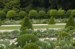 Stock Photo of France, formal garden of the castle of Sceaux