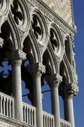 Italy, the doge's palace in Venice Stock Photos