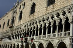 Italy, the doge's palace in Venice - stock photo