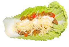 taco leaf 2 - stock photo