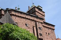 Stock Photo of France, Haut Koenigsbourg castle in Alsace