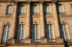 Bas Rhin, Le Palais Rohan in Strasbourg Stock Photos