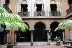 casa do Alentejo, an moorish style hotel in Lisbon - stock photo