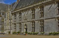 Stock Photo of historical castle of Chateaudun