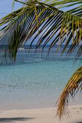 France, Sainte Anne in Guadeloupe Stock Photos