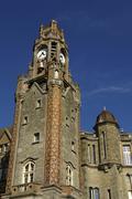 city hall of Le Touquet Paris Plage in Nord Pas de Calais - stock photo