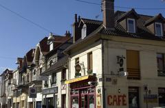 France, the city of Le Touquet Paris Plage in Nord Pas de Calais Stock Photos