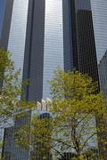 France, modern building in the district of La Defense Stock Photos