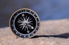 Analogic Compass Stock Photos