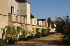 Stock Photo of France, the historical village of La Roche Guyon