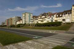 France, the city of Le Touquet Paris Plage in Nord Pas de Calais - stock photo