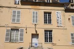 Manoir des Colombières in Auvers sur Oise - stock photo