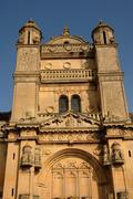 Ile de France, the historical church of Vetheuil Stock Photos