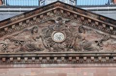 Bas Rhin, Le Palais des Rohan in Saverne - stock photo