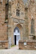 Chapelle de la Clarte in Perros Guirec Stock Photos