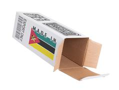 Stock Photo of Concept of export - Product of Mozambique