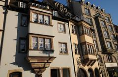 Stock Photo of Bas Rhin, old building in Strasbourg