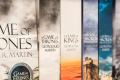 Game Of Thrones Books For Sale Kuvituskuvat