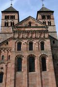 Stock Photo of the roman abbey of Murbach in Alsace