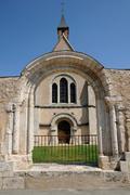 Stock Photo of Eure et Loir, the church Sainte Foy in Chartres
