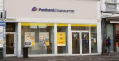 Deutsche Postbank AG in Germany Stock Footage