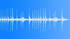 Single harp lullaby - stock music