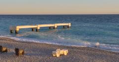 Seashore in Nice Stock Footage