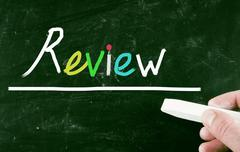 review concept - stock photo