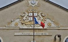 picturesque city of Le croisic in Loire Atlantique - stock photo