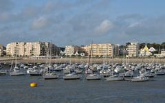 Picturesque city of Pornichet in Loire Atlantique Stock Photos